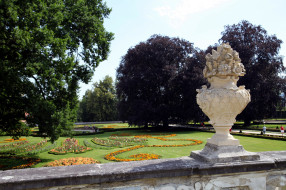 природа, парк, клумбы