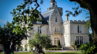 chateau pape clement, города, замки франции, chateau, pape, clement