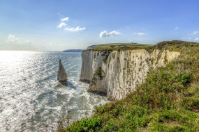 old harry rocks, dorset, england, природа, побережье, old, harry, rocks