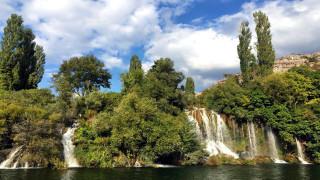 krka national park, croatia, природа, водопады, krka, national, park