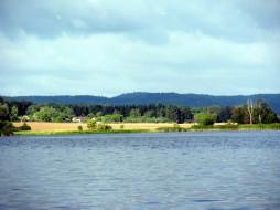 природа, реки, озера, горы, река, простор