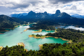 khao sok national park, thailand, природа, реки, озера, khao, sok, national, park