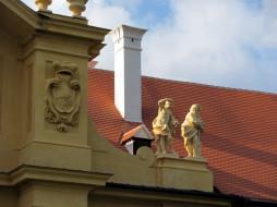 разное, элементы архитектуры, крыша, труба, скульптуры