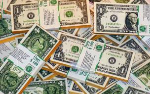 разное, золото,  купюры,  монеты, доллары, пачки, много