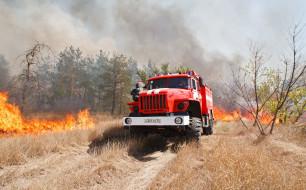 обои для рабочего стола 3904x2429 автомобили, пожарные машины, ural