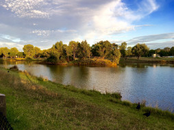 природа, реки, озера, лето, река, деревья
