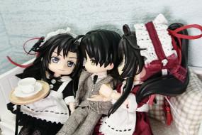 разное, игрушки, мальчик, девочки, горничные, куклы