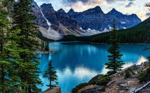 moraine lake, banff national park, canada, alberta, природа, реки, озера, moraine, lake, banff, national, park