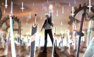 аниме, fate, stay night,  grand order,  apocrypha, судьбаночь, схватки