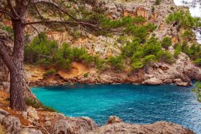 majorka, spain, природа, побережье