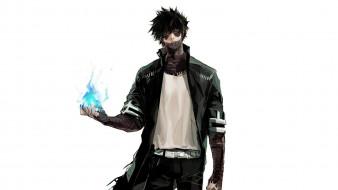 аниме, boku no hero academia, dabi