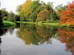 обои для рабочего стола 1920x1440 природа, реки, озера, озеро, осень