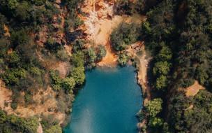 обои для рабочего стола 1920x1200 природа, реки, озера, ущелье, озеро