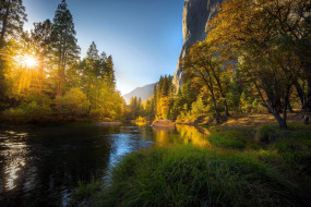 yosemite national park, california, usa, природа, реки, озера, yosemite, national, park