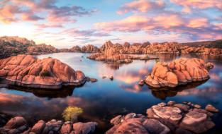 watson lake, prescott, arizona, природа, реки, озера, watson, lake