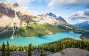природа, реки, озера, горы, озеро, лес