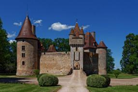 chateau de thoury, города, замки франции, chateau, de, thoury