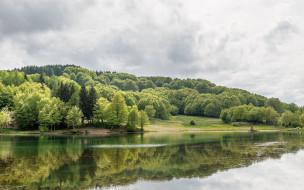 природа, реки, озера, деревья, река, отражение
