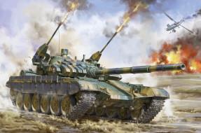 техника, военная техника, танк, т-72, словакия, т-72м2