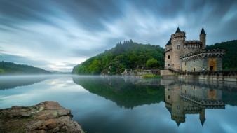 chвteau de la roche, города, замки франции, chвteau, de, la, roche