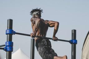спорт, гимнастика, выход, силы, обратный, хват, турник, workout