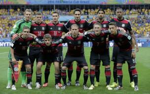 спорт, футбол, команда, германия, футболисты, поле