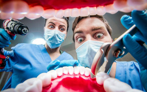 юмор и приколы, зубы, стоматологи