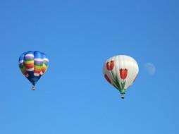 воздушные шары, авиация, воздушные шары дирижабли, воздушные, шары, небо, полёт