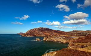 обои для рабочего стола 2560x1600 природа, побережье, скалы, вода