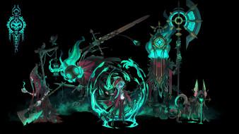 аниме, ангелы,  демоны, существа, оружие, магия