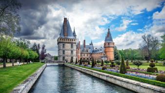 chateau de maintenon, города, замки франции, chateau, de, maintenon