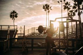 спорт, body building, спортсмен, пляж, культурист, бодибилдинг, карибский, бассейн, оборудование, упражнения, фитнес, здоровье