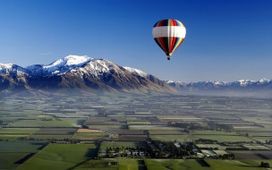 авиация, воздушные шары дирижабли, полет, воздушный, шар, небо