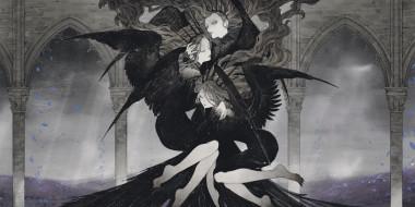аниме, ангелы,  демоны, девушка