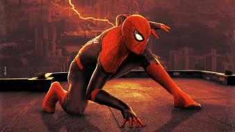 spider-man,  no way home ,  2021 , рисованное, - другое, человек, паук, нет, пути, домой, постер, рисунок, фантастика, боевик, том, холланд
