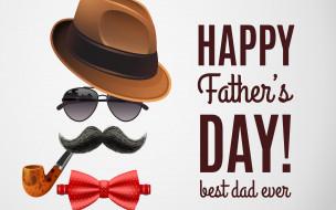 праздничные, день отца, надпись