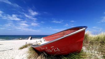 корабли, лодки,  шлюпки, пляж, лодка, песок