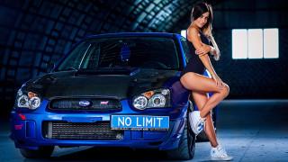 автомобили, -авто с девушками, ирина, высоцкая, subaru, impreza, sti