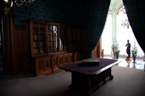 интерьер, кабинет,  библиотека,  офис, книжные, шкафы