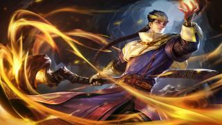 видео игры, heroes evolved, парень, посох, магия
