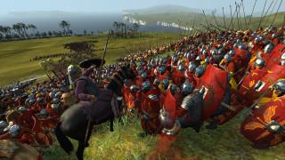 видео игры, total war,  rome remastered, армии, поле, холмы, река