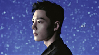 мужчины, xiao zhan, актер, лицо, звезды