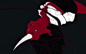 фэнтези, демоны, демонесса, рог, веревки
