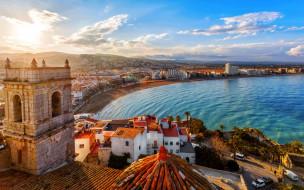 города, валенсия , испания, панорама
