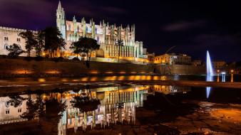 palma de mallorca, spain, города, - католические соборы,  костелы,  аббатства, palma, de, mallorca