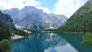 wildsee, tyrol, austria, природа, реки, озера