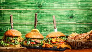 еда, бутерброды,  гамбургеры,  канапе, гамбургеры