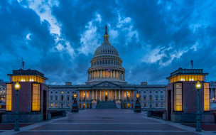 United States Congress обои для рабочего стола 2560x1600 united states congress, города, вашингтон , сша, united, states, congress
