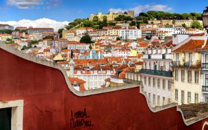 saint george castle, города, лиссабон , португалия, saint, george, castle