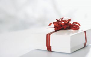 коробка, лента, подарок